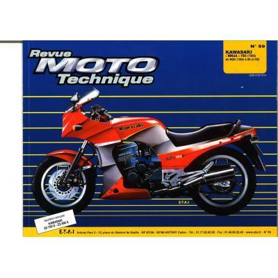 Revue Moto Technique 59.2 Kawasaki Ninja ZX750 G2-ZX 900A1-A2 84-85