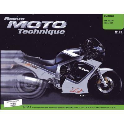 Revue Moto Technique 66 Suzuki GSX R 1100