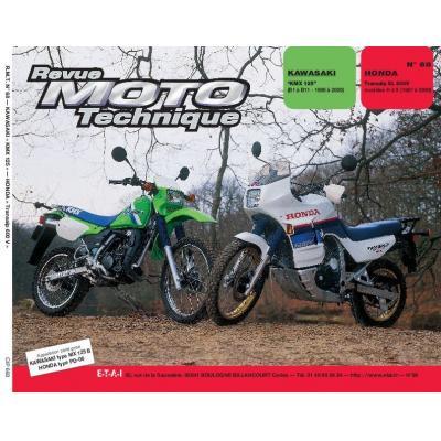 Revue Moto Technique 68.3 Kawasaki KMX 125 B1-B2 / Honda XL 600 V Transalp