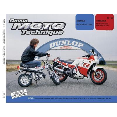 Revue Moto Technique 69.2 Honda ST 70 DAX / Yamaha FZ750-FZX 750 87-88