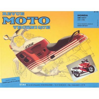 Revue Moto Technique 70.2 Honda CBR 1000 FH-FJ