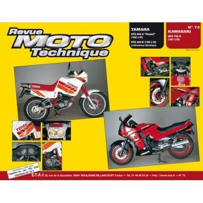 Revue Moto Technique 73.4 Yamaha XT 600Z / Kawasaki GPZ 750R