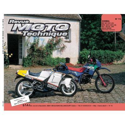 Revue Moto Technique 74 Honda NS 125 R - MTX 125 87-89