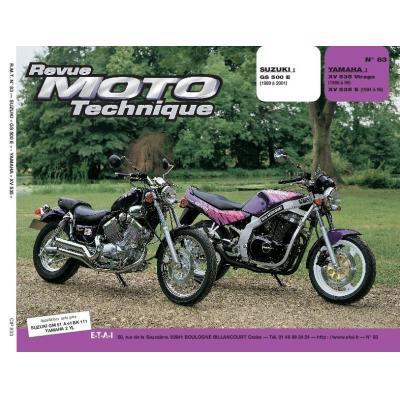 Revue Moto Technique 83.3 Suzuki GS 500 E / Yamaha XV 535 Virago
