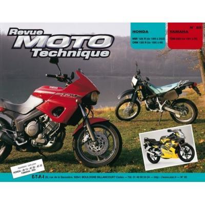 Revue Moto Technique 85.4 Honda NSR 125 R-CRM 125 RT / Yamaha TDM 850
