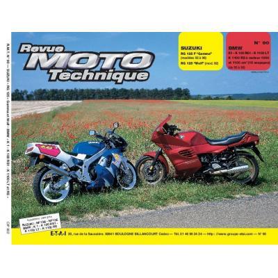 Revue Moto Technique 90.2 Suzuki RG 125 92-93 / BMW K1-K100 RS