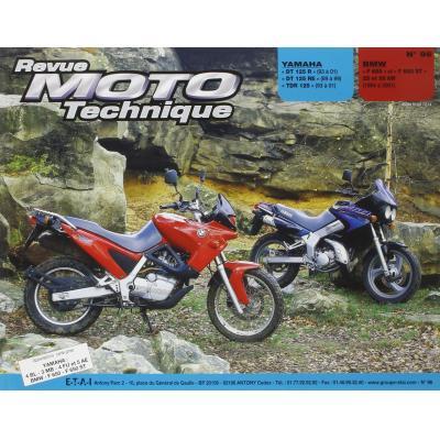 Revue Moto Technique 96.5 Yamaha DT 125 R-RE-TDR / BMW F 650 93-97