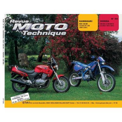 Revue Moto Technique 98.4 Kawasaki KDX 125 / Honda CB 500