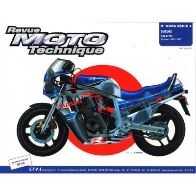 Revue Moto Technique HS 4.1 Suzuki GSX-R 750 85-87