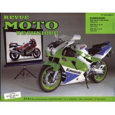 Revue Moto Technique HS 6.2 Kawasaki 750 Stinger 89-90 / ZXR 750 91-95