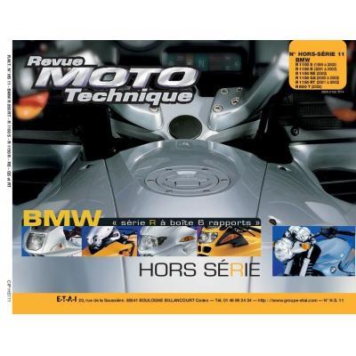 Revue Moto Technique HS11.1 BMW R850RT-1100S-R1150R-RS-GS-RT