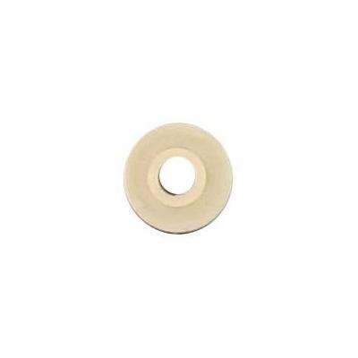 Rondelle épaulée crème en nylon Ø 5mm pour carter MBK 51 / Motobecane
