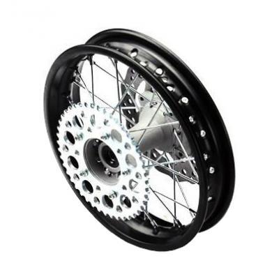 Roue arrière acier renforcée YCF pour axe de roue de 15