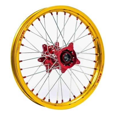 Roue arrière dorée moyeu rouge Kite Elite MX-EN 2,15''x19'' pour Honda CRF 450 R 04-12
