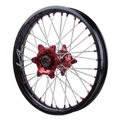 Roue arrière noire moyeu rouge Kite Sport 1,85''x19'' pour Suzuki RM-Z 250 07-17