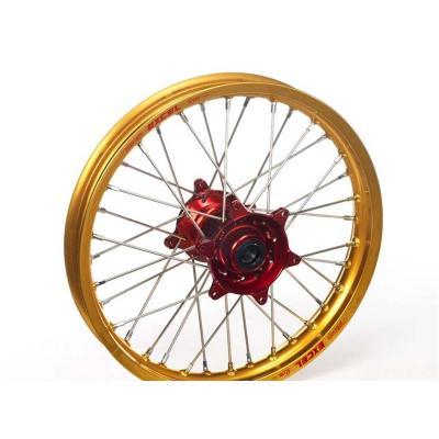 Roue avant Haan Wheels/Excel 21x1,60 Honda CR 500R 95-01 or/rouge