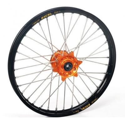 Roue avant Haan Wheels/Excel 21x1,60 Husaberg 450 FC 03-11 noir/orange