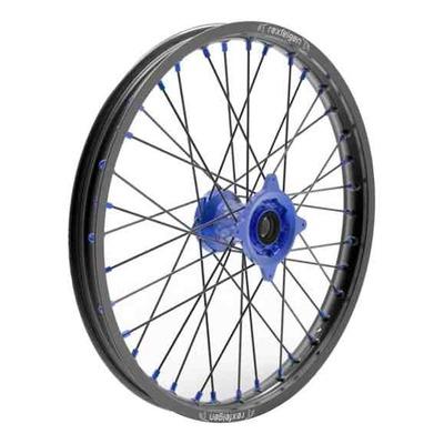Roue avant noire moyeu bleu Kite Sport 1,6''x21'' Yamaha YZ 250 F 09-20