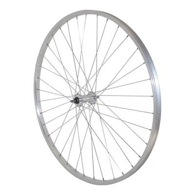 Roue avant vélo City Velox 700x28-35 à axe à boulon et freinage sur jante