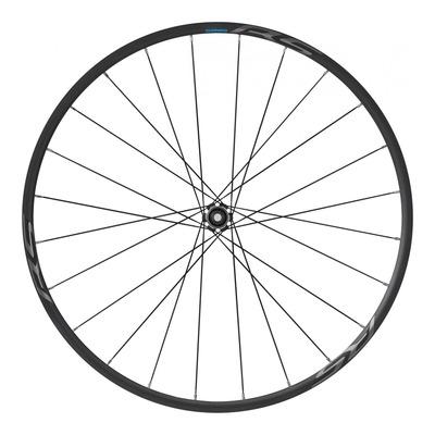 Roue avant vélo de route Shimano RS370 à disque 700 tubeless (19mm)