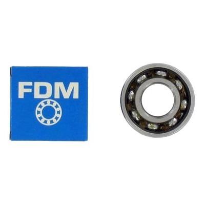 Roulement vilebrequin FDM 6204 C3 cage acier 20x47x14 pour Derbi / BW'S / 103