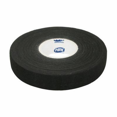 Ruban adhésif HPX textile protecteur 19mm x 25m noir