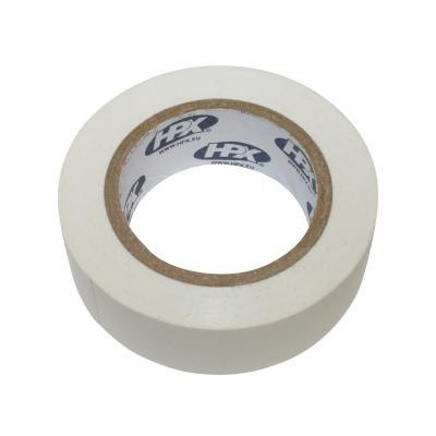 Ruban adhésif isolant blanc 19mm x 10m