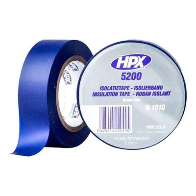 Ruban adhésif isolant bleu 19mm x 10m