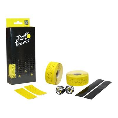 Ruban de guidon Velox Soft Grip Tour De France jaune perforé