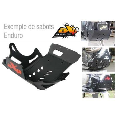 Sabot enduro axp en phd noir pour ktm exc-f350 '11