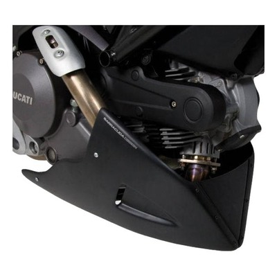 Sabot moteur Barracuda Aérosport noir Ducati Monster 696 08-14