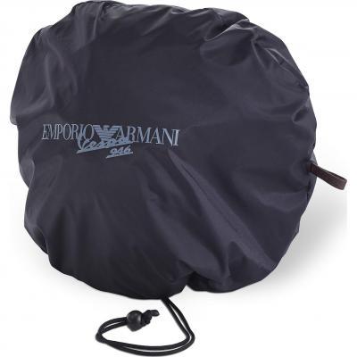 Sac à casque Vespa 946 Emporio Armani beige/anthracite réversible