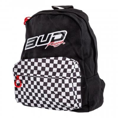 Sac à dos Bud Racing Checkers noir/blanc