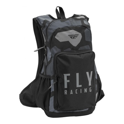 Sac à dos Fly Racing Jump gris/noir camouflage