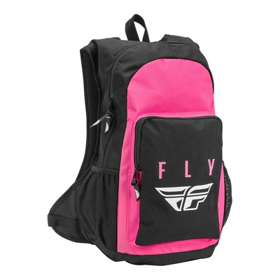 Sac à dos Fly Racing Jump noir/rose