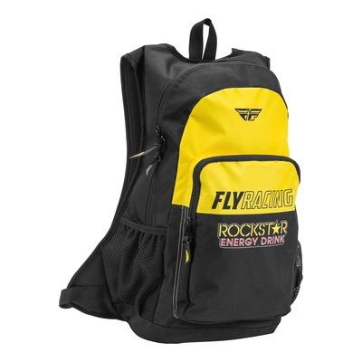 Sac à dos Fly Racing Jump Rockstar jaune/noir
