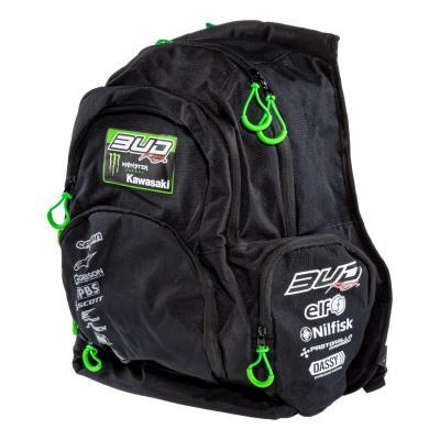 Sac à dos multifonction Bud Racing Team noir/vert