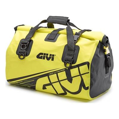 Sac de selle étanche Givi Easy-T EA115FL 40 Litres noir/jaune fluo