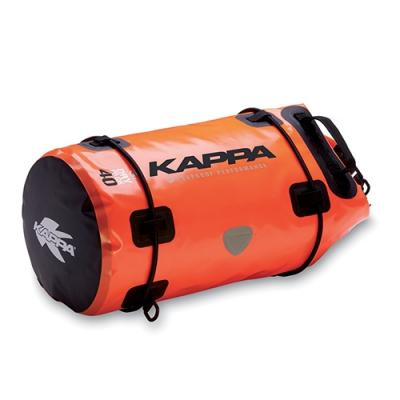 Sac de selle étanche Kappa WA401S 40 Litres orange/noir