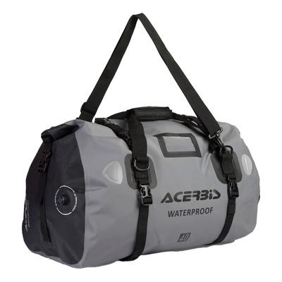 Sac de sport Acerbis X-Water horizontal WP noir/gris