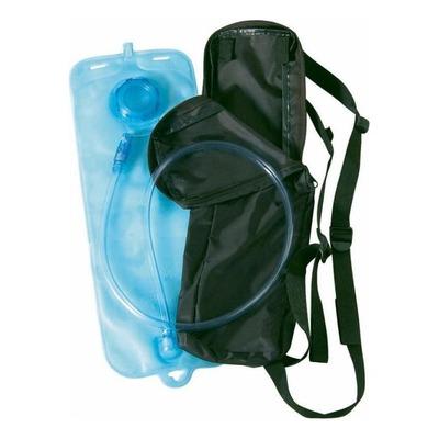 Sac nylon avec poche à eau Shot noir