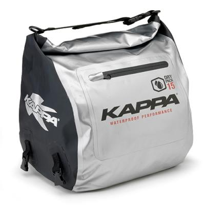 Sac tunnel pour scooter Kappa WA407S 15 Litres noir/argent