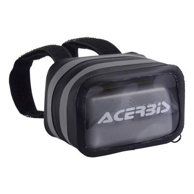 Sacoche de badge Acerbis Portatelepass X-KL noir/gris