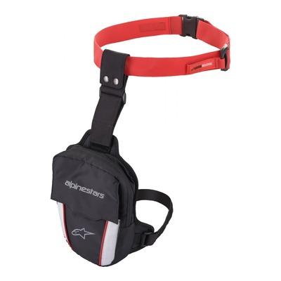 Sacoche de cuisse Alpinestars Access thigh bag noir/rouge/blanc