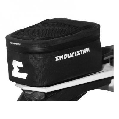 Sacoche de garde boue arrière Enduristan Rally noir 3,5 litres