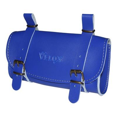 Sacoche de selle vélo Velox Vintage Classic bleu