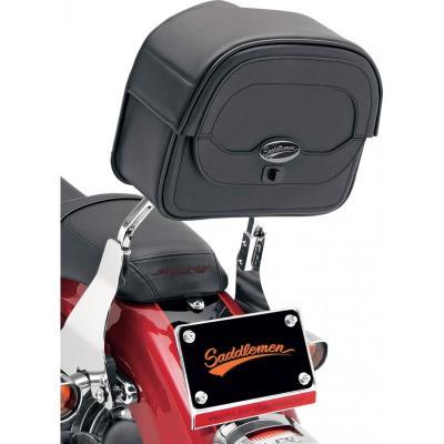 Sacoche de sissy bar Saddlemen Express Cruis'N Large 24x28x11,5 cm noire