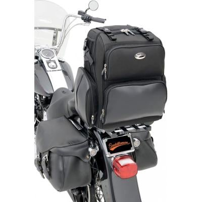 Sacoche de sissy bar Saddlemen SDP2600 Roller noire