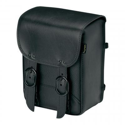 Sacoche de sissybar Willie & Max modèle Black Jack double boucles noir
