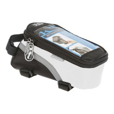 Sacoche pour smartphone M-Wave blanc/noir